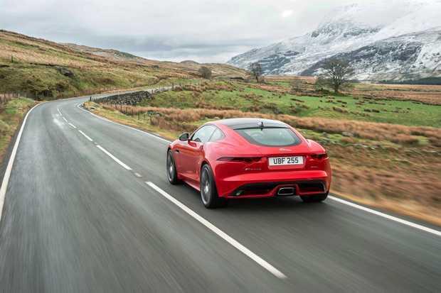 2017 Jaguar F-Type four-cylinder