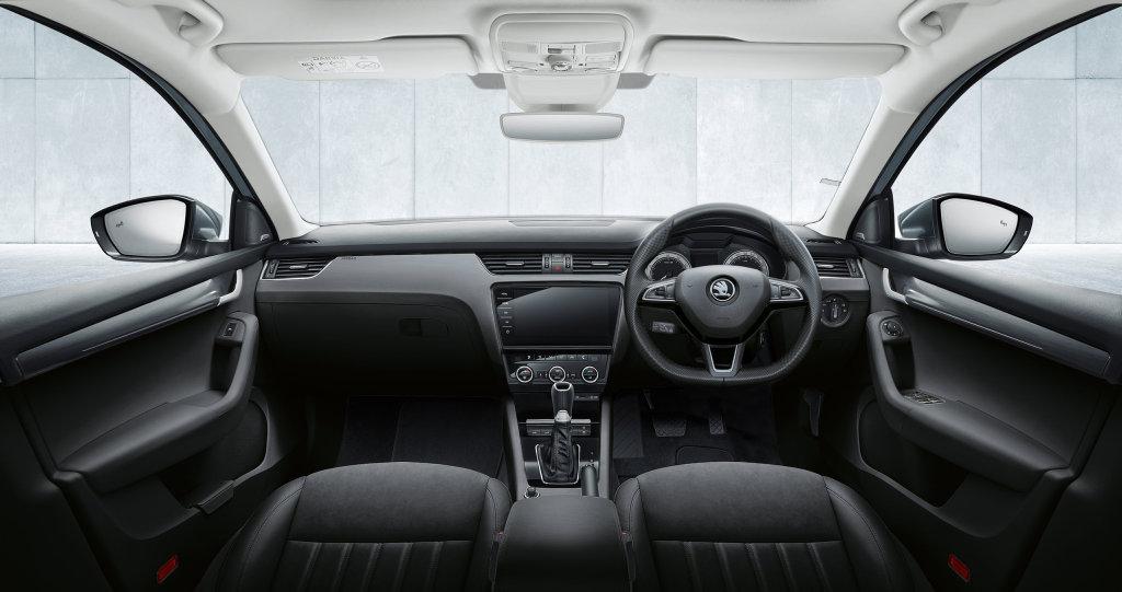 2017 Skoda Octavia interior.