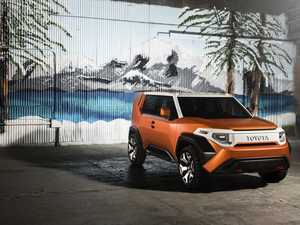 Is Toyota getting cool again? SUV concept revives icon FJ