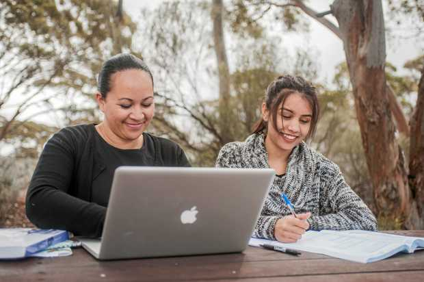 STUDY ANYWHERE: Students have said online courses allow more flexibility for them to complete their study.
