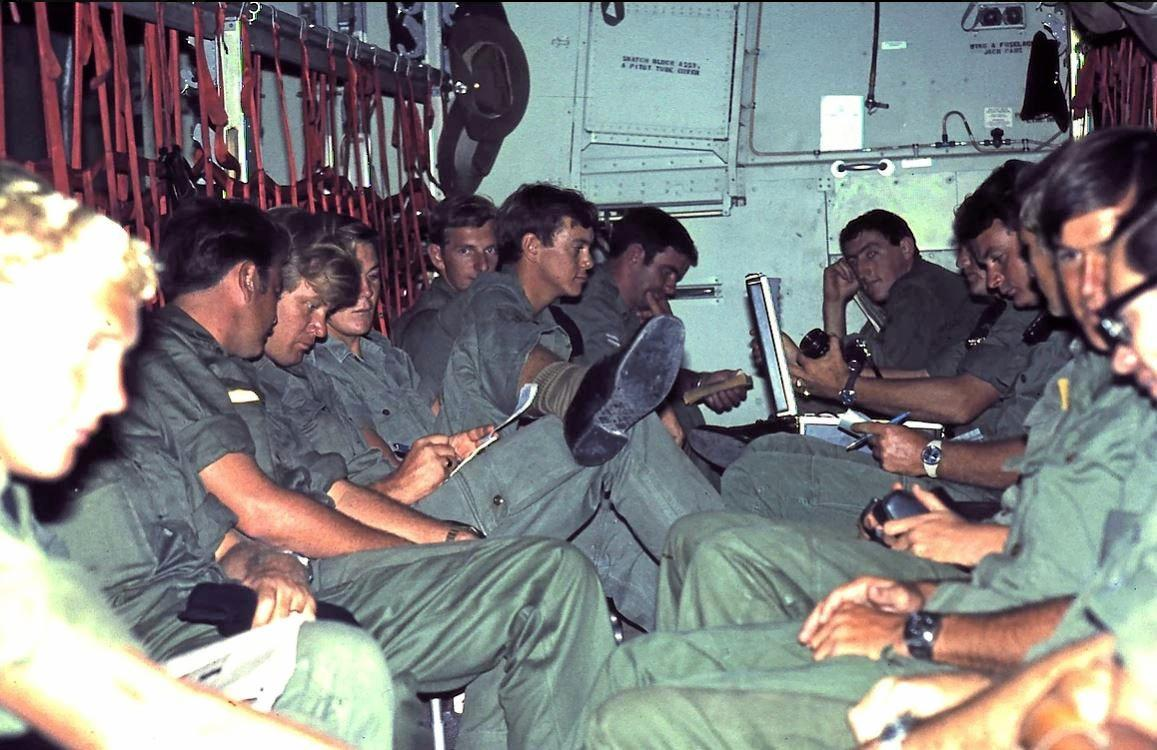 LIFE IN VIETNAM: The 86th Transport Platoon went to Vietnam in 1967, when most of them were barely 20.
