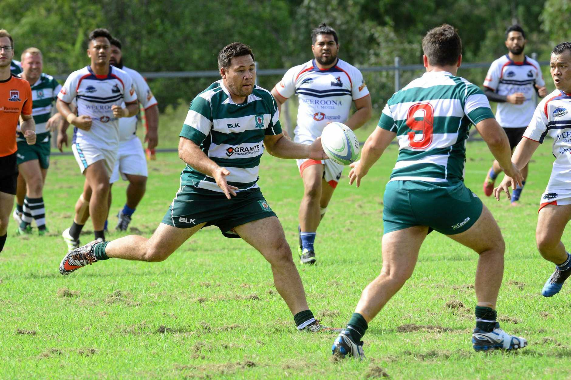 TOP TEN: The Ipswich Rangers and Goodna combined to host and win the QSRU Rugby 10s.