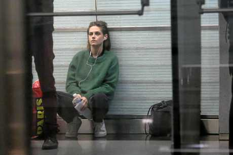 Kristen Stewart in a scene from the movie Personal Shopper.