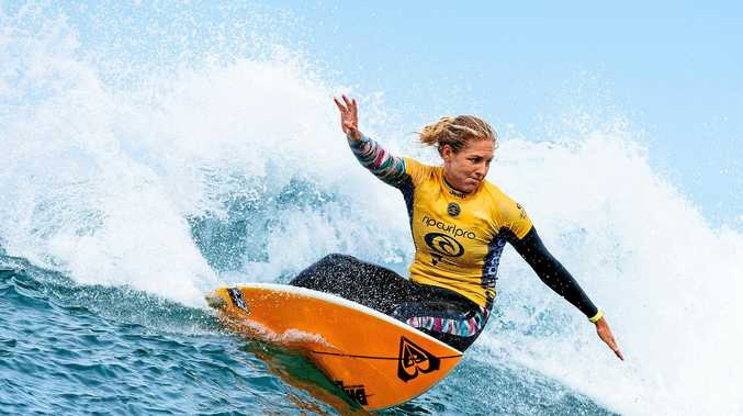 Stephanie Gilmore continued her dream start to the WSL season.