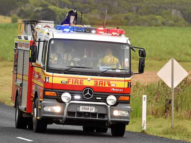 Queensland Fire and Rescue are responding to a cattle truck rollover near Clermont.