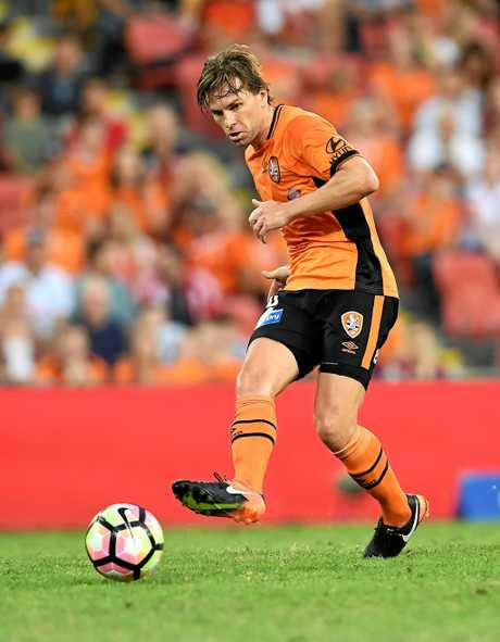 Brett Holman of the Brisbane Roar.