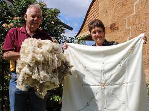 Woolly fun in history showcase