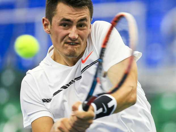 Bernard Tomic has dropped to a world ranking of 43.