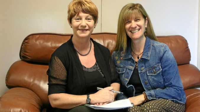 BUSINESS OF HEALTH: Warwick Chamber of Commerce president Julia Keogh and co-vice president Lyn Prowse-Bishop are presenting mental health workshops in partnership with Warwick Hospital and CNOW.