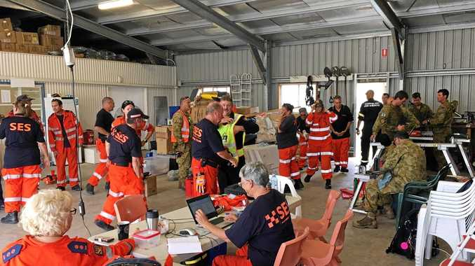 Whitsunday Divisional Command with Fire and Emergency Services Support Network staff deployed from all over the state to provide emotional support to staff working in traumatic disaster situations.