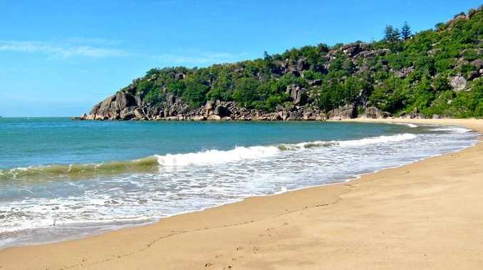 MANY OPTIONS: Sunshine Coast developer Graeme Juniper is considering what to do with a prime piece of real estate he owns on Radical Bay on Magnetic Island, near Townsville.