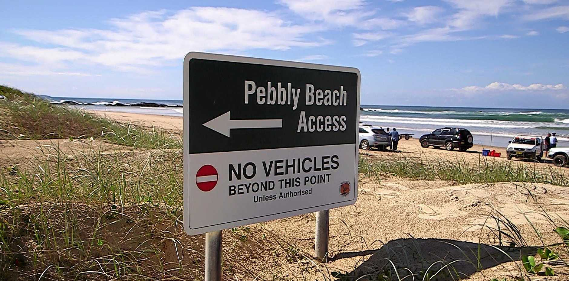 Ali Mosawi, 17, became caught in a rip at Pebbly Beach in the Yuraygir National Park, 55km north of Coffs Harbour, just before 4pm on Saturday, 15th April, 2017.