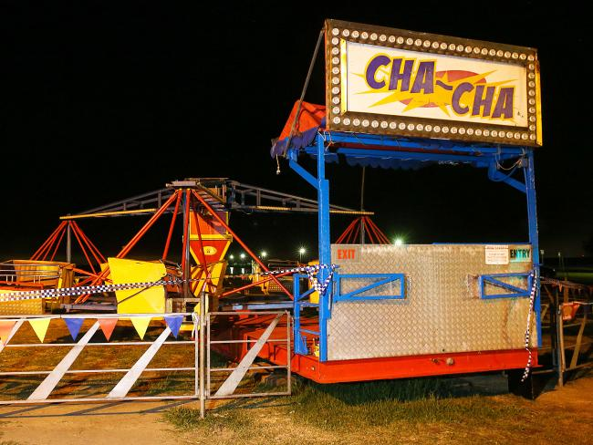 The Cha Cha, which spins clockwise and anticlockwise at the same time and at high speed.