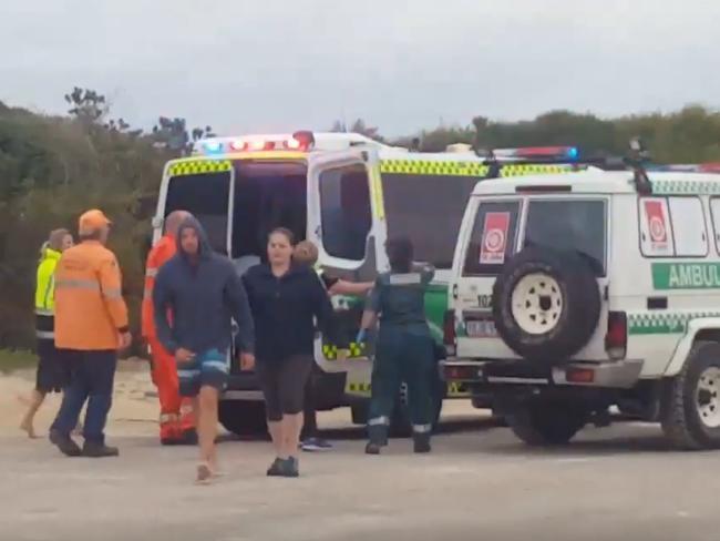 Esperance shark attack teen dies off West Australian coast.