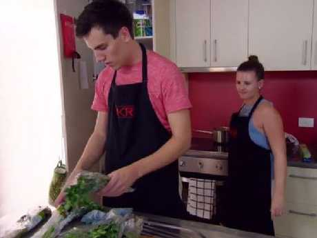 Josh mistakenly uses all the coriander in the marinade for his crab.