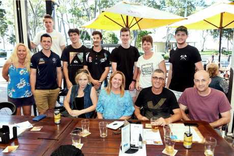 The Torquay Hotel has reopened, following the storm damage caused by Cyclone Debbie's rain depression. Bay Power AFL were out to support the reopening.