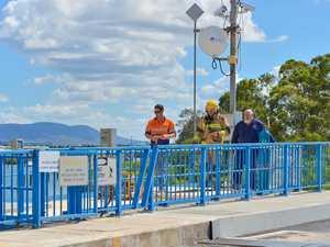 Hot slag the culprit in drawbridge incident