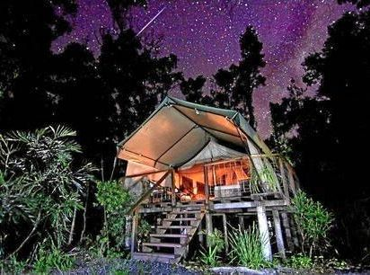 Paperbark Camp, Jervis Bay, New South Wales.