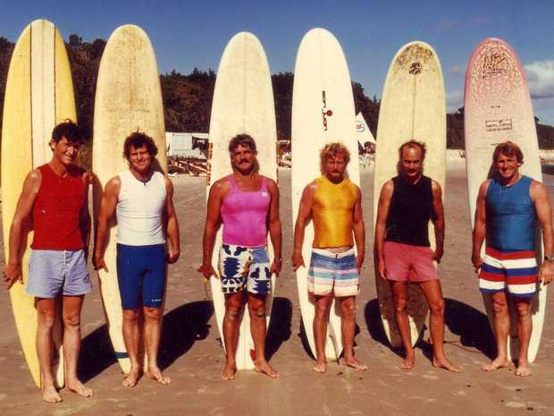 CLASSIC: A finals heat from the 1985 Byron Bay Malibu Club Classic