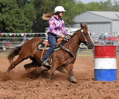 STAR RIDER: Teal Ayers will be riding at this year's Gargett Lions Rodeo.