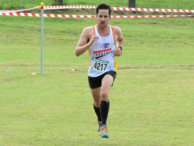 FIGHTING FIT: Ryan Clancy finished the Sunday marathon in impressive time.
