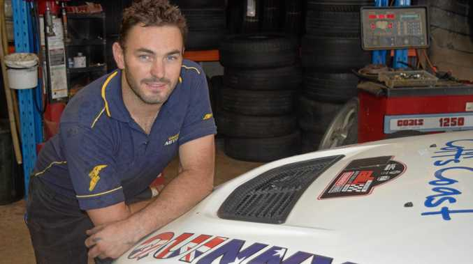 FAST START: Coffs Harbour rally car driver Nathan Quinn has made a positive start to his Australian Rally Championship campaign.
