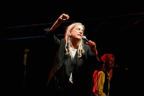 Patti Smith at Bluesfest 2017 in Byron Bay.
