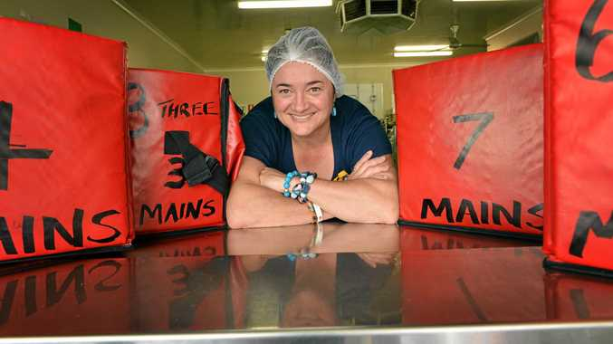 FUTURE UNCERTAIN: Jules Delgado, manager of Gympie Meals on Wheels.