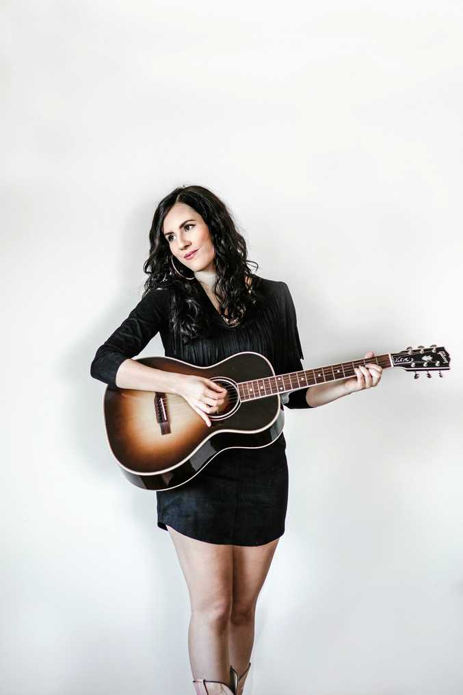 YEEHAW: Hayley Marsten will bring her country sound to the Young Australian Hotel on Friday night.