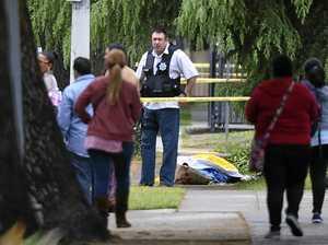 Gunman yells in Arabic after Californian triple shooting