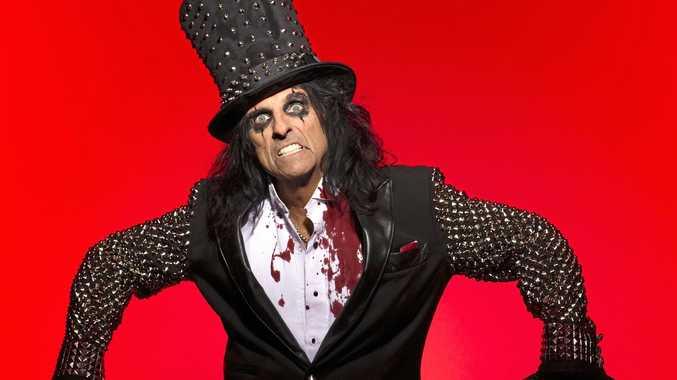 WE'RE NOT WORTHY: Shock rocker Alice Cooper has announced his 13th Australian tour.