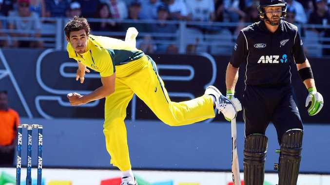Mitchell Starc could be a doubt for the Champions Trophy.