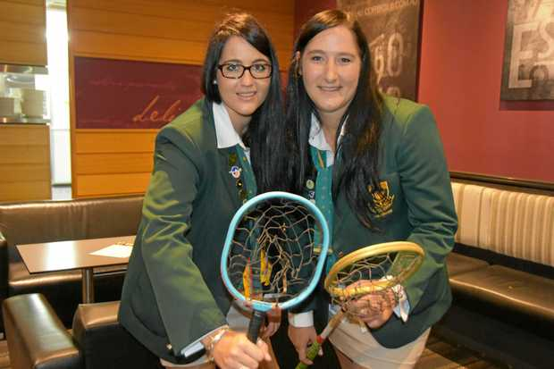 Celicia and Dawnay Jacobs from the Arnot club in South Africa are one of six sibling groups playing in the Australia-South Africa Test series.