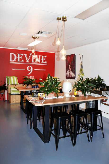 Devine 9 Cafe, Pialba - Owner Linda Ross.