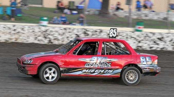 CONTENDER: Brock Armstrong will race at the Castrol Edge Lismore Speedway Saturday night