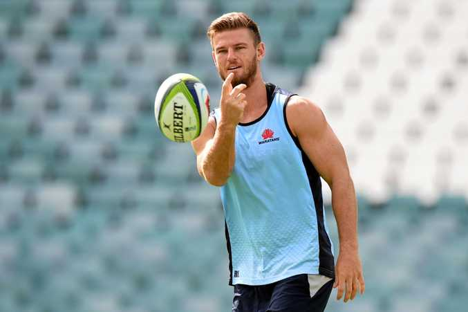 Rob Horne is back for the Waratahs.