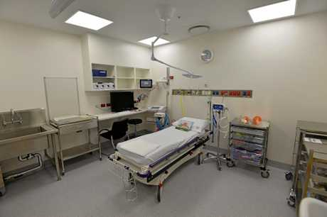The new state of the art Emergency Department at the Sunshine Coast University Hospital.