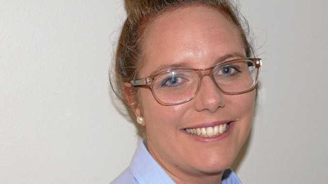 The new Grafton Chamber of Commerce president Katie Kelemec.