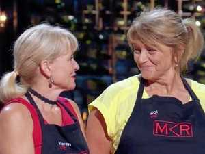 MKR's Karen and Ros are out after failed chocolate dessert