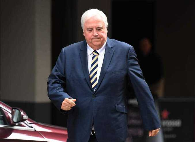 Clive Palmer has disbanded his Palmer United Party.