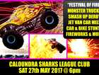 "THE SEA FM ""FESTIVAL OF FIRE"" - MONSTER TRUCKS, JET VAN, SMASH UP DERBY, STUNTS, BIKES, FIREWORKS & MORE"
