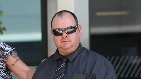 Scott Conley arrives at Maroochy Court.