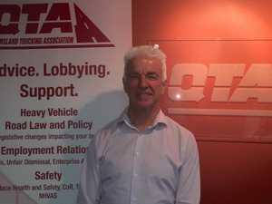 Queensland Trucking Association CEO Gary Mahon