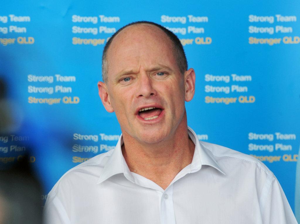 Former Queensland premier Campbell Newman.