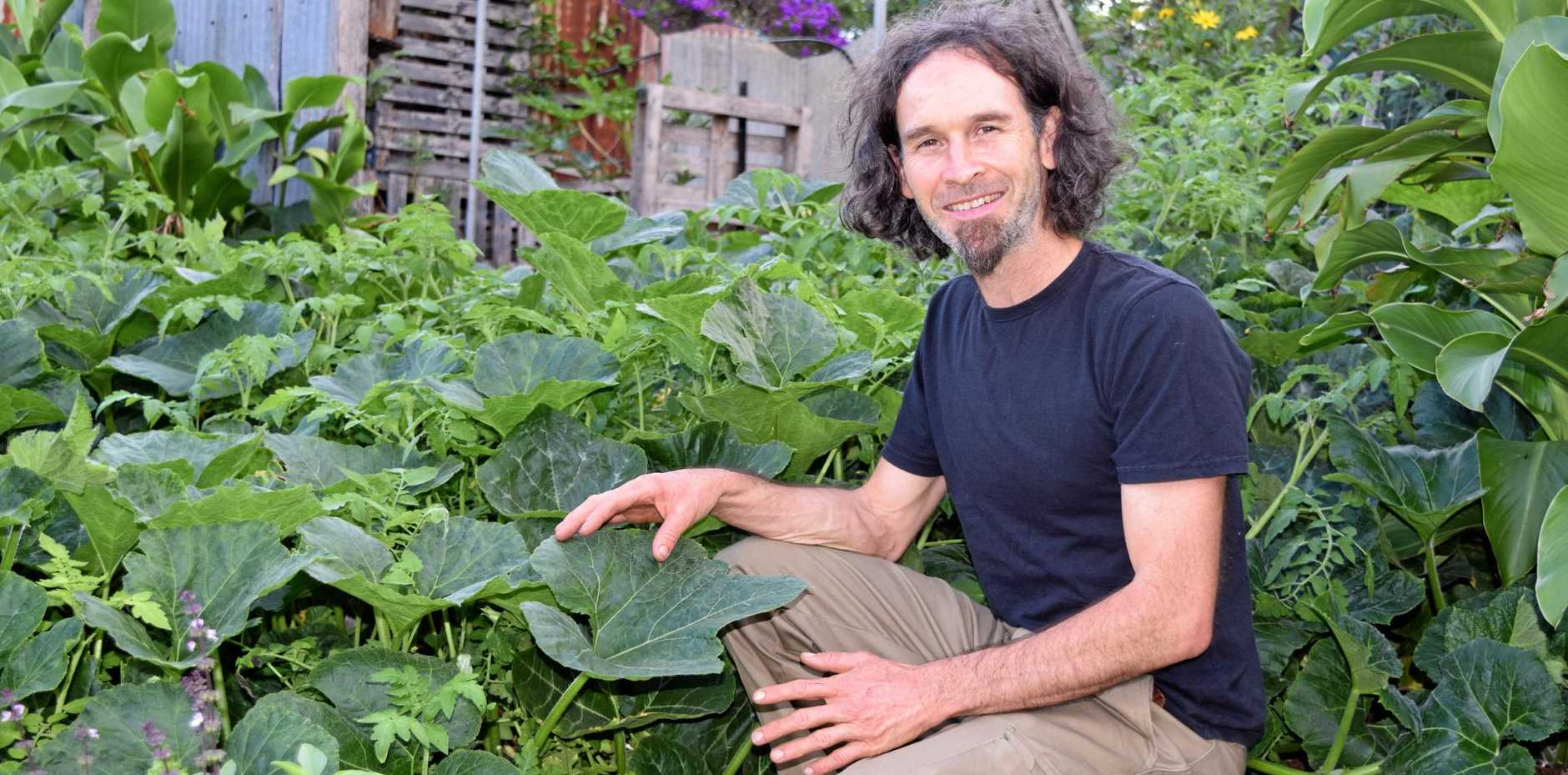 DOWN TO EARTH: Award-winning permaculturalist Dan Deighton explains the gardening movement permaculture.