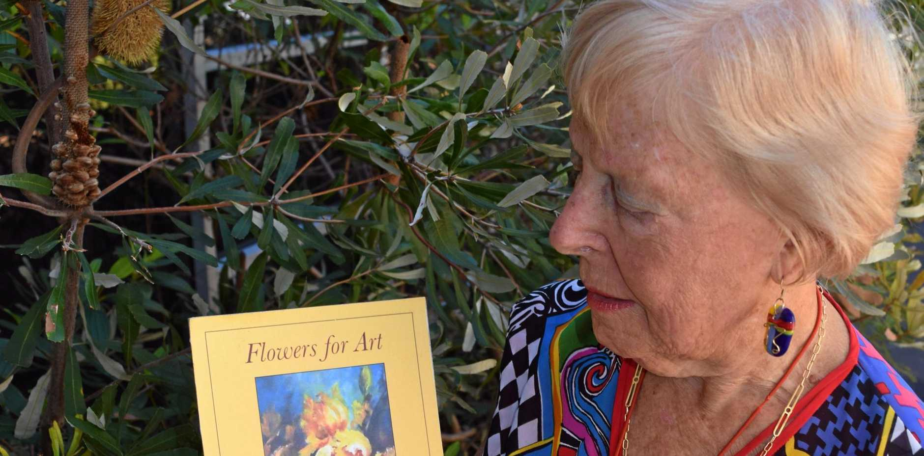NATURAL: Tricia Bradford has written her ninth book, Flowers for Art.