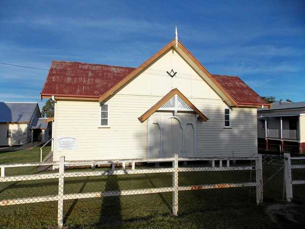 NEW HOME: The old Masonic Lodge in Nanango.