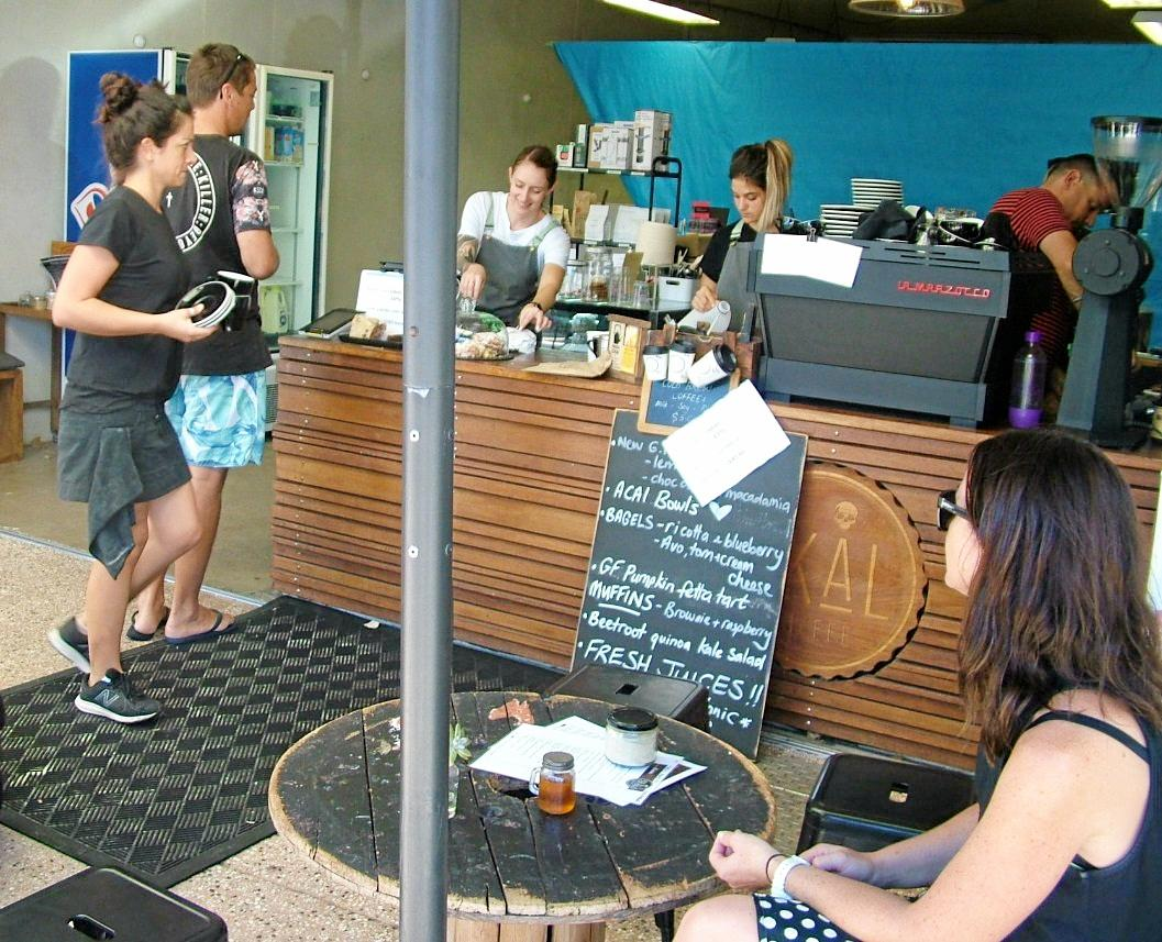 BREWING BIG: Business was brisk in Peregian vibrant cafe scene on Easter Sunday despite the public holiday declaration.