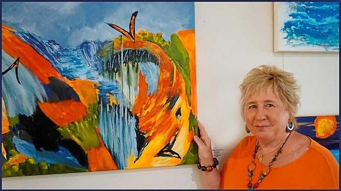 PASSION: Local artist Jenny Hines has a new exhibit opening this weekend at Tewantin U3A.