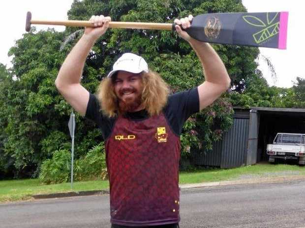 REPRESENT: Shane Berkhout in his Queensland colours.